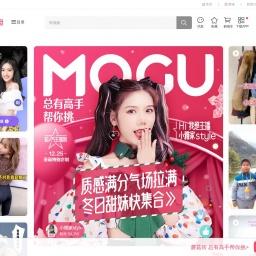 www.mogujie.com网站截图
